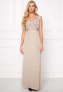 Chiara Forthi Francine Dress Beige Bubbleroom.se