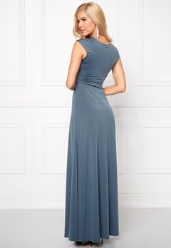 Chiara Forthi Francine Dress Pigeon Blue Bubbleroom.se