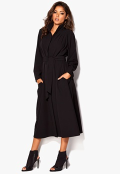 Chiara Forthi Futura Oversized Coat Black Bubbleroom.se