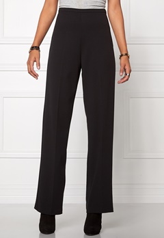 Chiara Forthi Highrise Stretch Trousers Black Bubbleroom.se