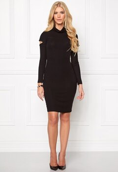 Chiara Forthi Intrend Peek-a-boo Dress Black Bubbleroom.se