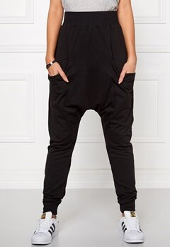 Chiara Forthi Intrend Pocket Pantaloni Black Bubbleroom.se