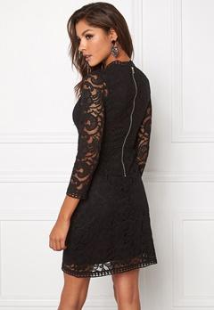 Chiara Forthi Janina Lace Dress Black Bubbleroom.se