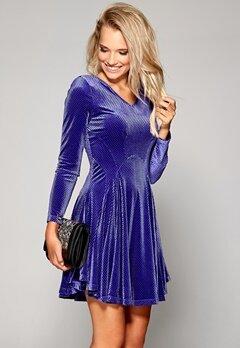 Chiara Forthi Joanna Velvet Dress Purple Bubbleroom.se