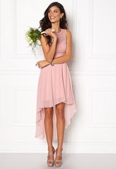 Chiara Forthi Kimberly Highlow Dress Blush Pink Bubbleroom.se