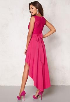 Chiara Forthi Kimberly Highlow Dress Cerise Bubbleroom.se