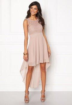 Chiara Forthi Kimberly Highlow Dress Light mole Bubbleroom.se