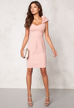 Chiara Forthi Domitille Dress Blond Pink Bubbleroom.se
