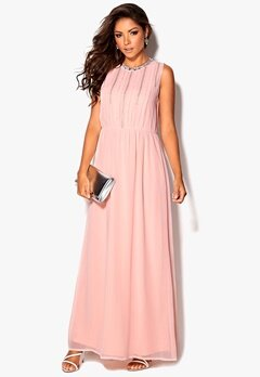 Chiara Forthi Lavinia Embellished Dress Light pink Bubbleroom.se