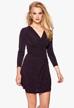 Chiara Forthi Lumina Dress Purple/Black Bubbleroom.se