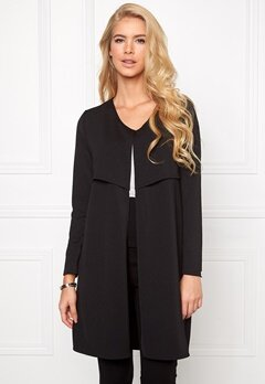 Chiara Forthi Mandy Slit Cover-Up Black Bubbleroom.se