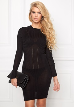 Chiara Forthi Milano Knit Dress Black Bubbleroom.se