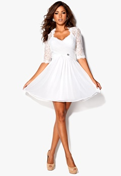 Chiara Forthi Natalia Dress Creme (Milk) Bubbleroom.se