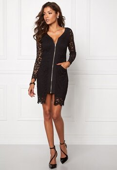 Chiara Forthi Nellie Lace Dress Black / Gold Bubbleroom.se