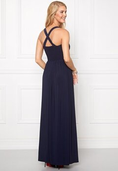 Chiara Forthi Rochelle Maxi Dress Blue Bubbleroom.se