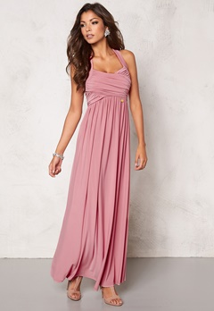 Chiara Forthi Rochelle Maxi Dress Powder Pink Bubbleroom.se