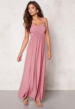 Chiara Forthi Rochelle Maxi Dress Powder pink Bubbleroom.se