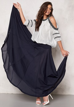 Chiara Forthi The Ultimate Maxi Skirt Midnight sky Bubbleroom.se