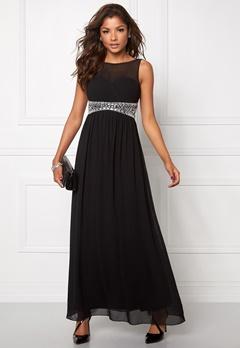 Chiara Forthi Vertigo Embellished Dress Black/Silver Bubbleroom.se