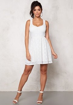 Chiara Forthi Biscuit Dress White Bubbleroom.se