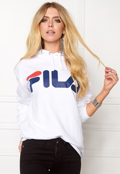 FILA Crash Hoodie White Bubbleroom.se