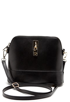 Mixed from Italy Cross Body Leather Bag Black Bubbleroom.se