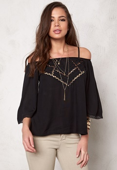 Culture Aasmund Blouse Black Bubbleroom.se