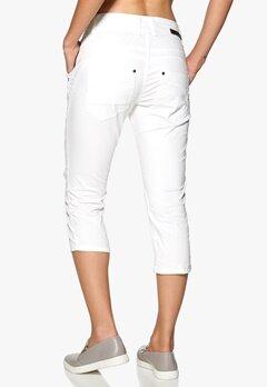 Culture Malou Fit Stacy Pants 0101 White Solid Bubbleroom.se