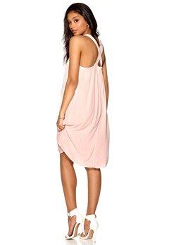 Culture Simona Dress Peach Bluch Bubbleroom.se