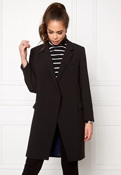 DAGMAR Jolie Coat Black Bubbleroom.se