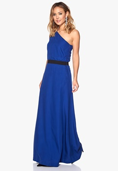 DAGMAR Mine woven dress 565 Caspian blue Bubbleroom.se