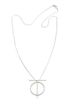 Pieces Dallia long necklace Gold colour Bubbleroom.se