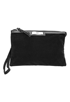 Day Birger et Mikkelsen Day Gweneth Velvet Clutch Black Bubbleroom.se