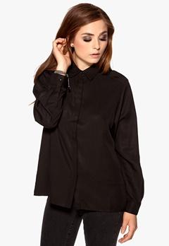 D.Brand Agnes Shirt Black Bubbleroom.se