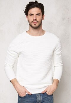 D.Brand Amadeus Knitted White Bubbleroom.se