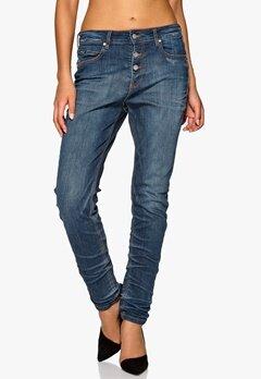 D.Brand Carrot Fit Jeans Denim Blue Wash Bubbleroom.se
