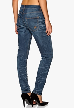 Brand Carrot Fit Jeans Denim Blue Wash Bubbleroom.se