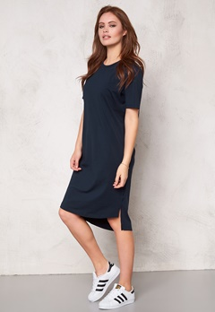 D.Brand Ellen Tee Dress Mood Indigo Bubbleroom.se