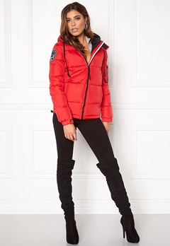 D.Brand Eskimå Jacket Red Bubbleroom.se