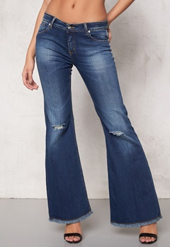 D.Brand Flair Denim Blue Jeans Denim Bubbleroom.se