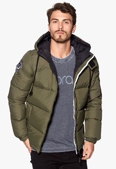 D.Brand Igloo Jacket Olive Green/Black Bubbleroom.se
