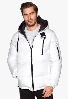 D.Brand Igloo Jacket White/Black Bubbleroom.se