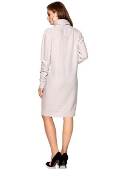 D.Brand Maddox Turtle Neck Dress Grey Bubbleroom.se