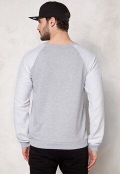 D.Brand Mr Sandwich Sweatshirt Grey Bubbleroom.se