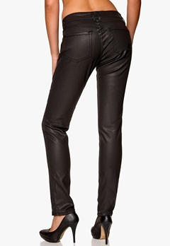 D.Brand Slim Fit Jeans Black Coated Bubbleroom.se