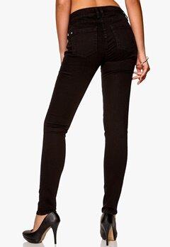 D.Brand Slim Fit Jeans Black Bubbleroom.se
