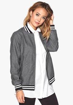 D.Brand Wool Jacket Grey Bubbleroom.se