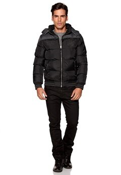 Deeluxe Peaks Jacket Black Bubbleroom.se