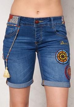 Desigual Africa Denim Shorts Jeans Vaquero Bubbleroom.se