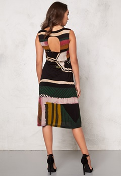 Desigual Anca Dress Negro Bubbleroom.se